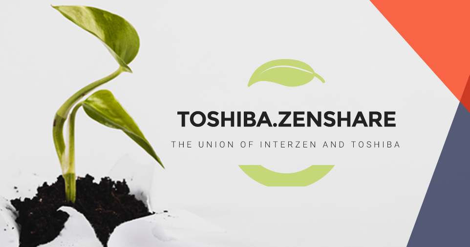 Toshiba.ZenShare is born: the Information Management System for customized printers
